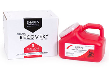 1 Gallon Sharps Recovery System
