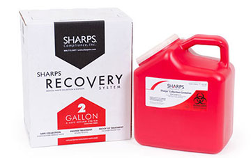 2-Gallon Sharps Recovery System